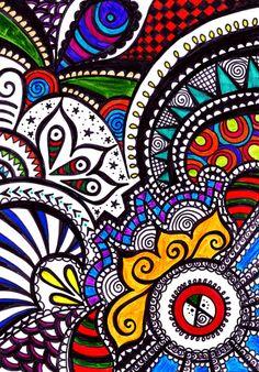 Mosaic Style Art Print