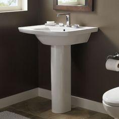 Elliston Pedestal Sink : ... Bathroom Pinterest Evolution, Pedestal Sink and Pedestal