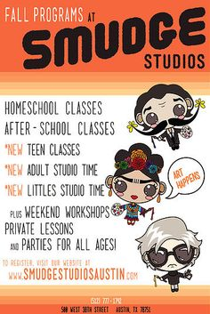 Smudge Studios Austin - fun for kids bday party, painting, events