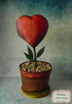 Flower of love - Cake by Ioannis - tourta.apo.spiti