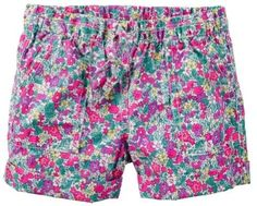 Carter's Baby Clothing Outfit Girls Pull-On Printed Poplin Shorts Multi Floral 3M