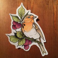 Robin Bird Tattoo Illustrations 60 New Ideas Tattoo Sketches, Tattoo Drawings, Body Art Tattoos, New Tattoos, Hand Tattoos, Tattoo Illustrations, Tattoo Robin, Robin Bird Tattoos, Petit Tattoo