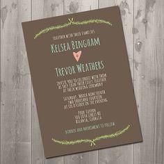 Wedding invitation #veryberryevents