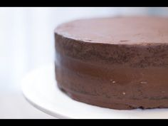 Gâteau chocolat-ganache - Fashion Cooking