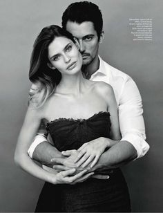 AMICA MAGAZINE: Bianca Balti & David Gandy by Photographer Giovanni Castel - Image Amplified: The Flash and Glam of All Things Pop Culture. From the Runway to the Red Carpet, High Fashion to Music, Movie Stars to Supermodels. Poses Pour Photoshoot, Style Photoshoot, Photoshoot Ideas, Fashion Editorial Couple, Fashion Couple, Portrait Photos, Couple Portraits, Photo Couple, Couple Shoot