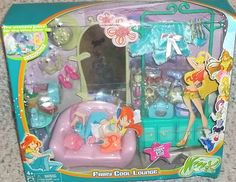RARE Winx Club Doll 2004 2005 Fairy Cool Lounge Furniture Shoes Accessories    I NEED THIS...