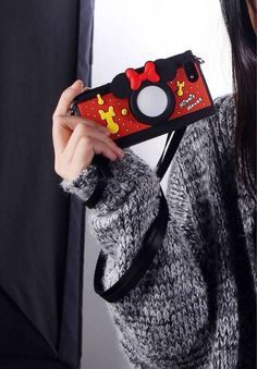 3D Disney Camera Style Silicone Soft Back Full Case Cover for iPhone 5 4 4S 5S | eBay