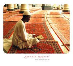 Muslim worshiper wearing a kufi