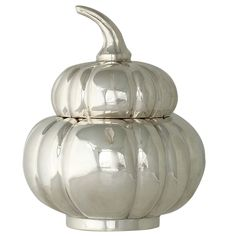 1stdibs.com | Tane Mexico Sterling Silver Gourd Shaped Bowl w/Lid