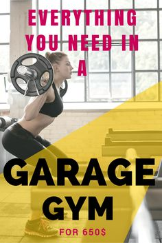 If you are looking to save time and money you need to set up a home gym. You can do it right in your garage. For just 650$ (2-3 months of Crossfit) you can have a fully functional, high performance, gym in the comfort of your home.