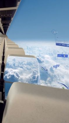 You could soon be riding in windowless plane