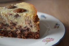 Kruidnootjes cheesecake - goedgekeurd! Volgende keer pure chocolade en iets minder suiker.