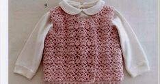 It is a website for handmade creations,with free patterns for croshet and knitting , in many techniques & designs. Crochet Bebe, Crochet For Kids, Crochet Children, Knit Vest, Sweater Cardigan, Sleeveless Cardigan, Baby Sweaters, Handicraft, Free Pattern