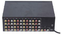 60.00$  Watch now - http://aliqqu.shopchina.info/1/go.php?t=1017176727 - Freeshipping 1 Input 16 Chs VIDEO AUDEO Output 16 load video audio amp spliter RCA Connector AV Splitter  #magazineonline
