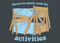 So much more room for activities :)