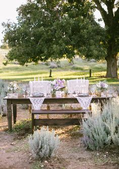 Lavender farm wedding inspiration