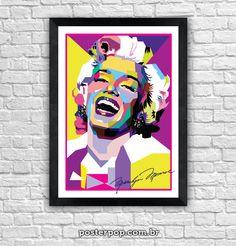 Poster Marilyn Monroe Colors