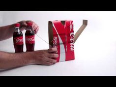 Create a DIY VR Viewer from Old Coca-Cola Boxes - http://www.psfk.com/2016/03/diy-vr-viewer-coca-cola-boxes-virtual-reality-cardboard.html