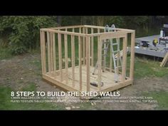 Timelapse of How To Build A Shed | Watch Every Step In The Shed Building Process - YouTube
