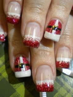 Holiday Nail Art: Get Into the Spirit! : Lucky Magazine