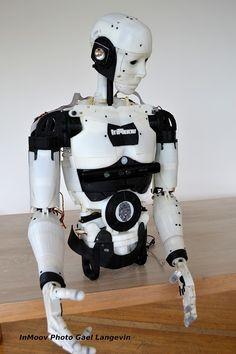 InMoov, el robot impreso en 3D, de código abierto y con #Arduino #impresion3d #3dprint #robotica #opensource