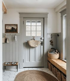 Instagram Saves: 10 Character Filled Entryways I'm Drawing Inspiration From Style Me Pretty Living, Interior And Exterior, Interior Design, Country Interior, Farmhouse Interior, Country Farmhouse Decor, Rustic Decor, Farmhouse Style, My Dream Home