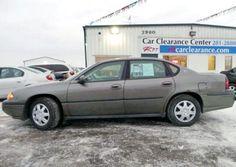 2001 Chevrolet Impala sedan for $1,400 in Rochester, MN near Minneapolis.