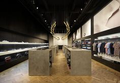 Interior/Exhibition/VMD :: Fred Perry store by BuckleyGrayYeoman, London