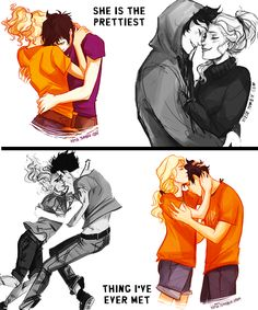Annabeth is not a THING!!! She is a strategic demigod warrior....but....I TOTALLY SHIP PERCABETH!!