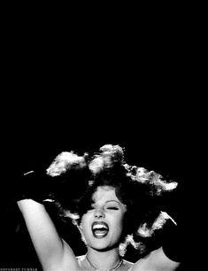 "Rita Hayworth singing ""Put the Blame on Mame"" <3"