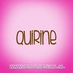 Quirine  (Voor meer inspiratie, en unieke geboortekaartjes kijk op www.heyboyheygirl.nl)