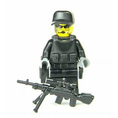 SWAT Police Sniper Made With Real LEGO(R) Mini-Figure Parts
