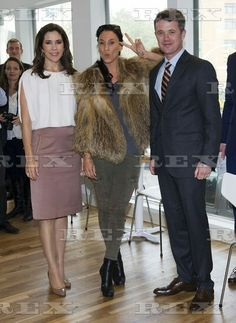 Crown Prince Frederik and Crown Princess Mary Visit New York, America - 24 Oct 2011  Crown Prince Frederik and Crown Princess Mary with the danish singer Medina at the opening of the Danish restaurant Aamanns/Copenhagen in Manhattan, the first Danish restaurant in Manhattan 24 Oct 2011