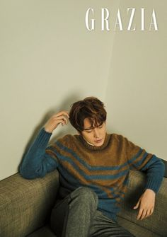 Kyuhyun poses for a sentimental photo shoot with 'Grazia' Super Junior T, Cho Kyuhyun, Happy Pills, Last Man Standing, Leeteuk, Well Dressed Men, Btob, Mamamoo, Asian Style