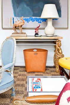 console table decor | Evan Joseph Images