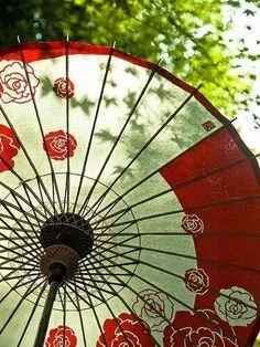 Ancient Chinese umbrella