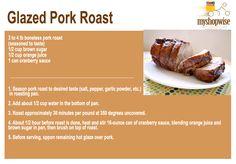Glazed Pork Roast - delicioso! www.myshopwise.com