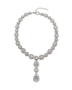 David Tutera Embellish - Elizabeth Classic Necklace - All Dressed Up, Jewelry
