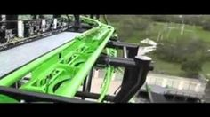 Happy St. Patrick's day! Here's a very odd roller coaster that just so happens to be green!