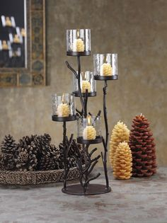 How to Make Wrought Iron Candle Holder - http://left.ellenbdavis.com/812-how-to-make-wrought-iron-candle-holder/ : #CandleHolder Wrought iron pieces are versatile in interior design, adding classic elegance and a rustic touch to the decor of home. Even a novice metalworker can put together a utilitarian wrought iron candle holder, although some assistance may be necessary when welding pieces of iron. Diagram their wrought...