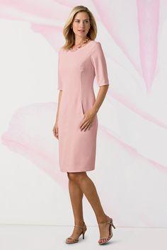 Elbow Sleeve Sheath Dress: Classic Women's Clothing from #ChadwicksofBoston