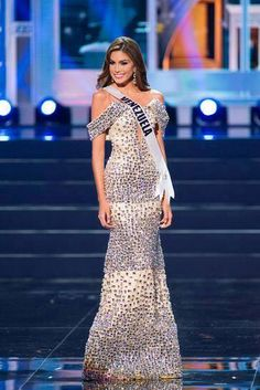 Venezuela - Miss Universe 2013 Evening Gown Preliminary Competition