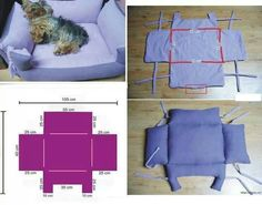 DIY cat's or dog's bed