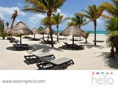 VIAJES DE LUNA DE MIEL. Playa Maroma es uno de los destinos más hermosos del estado de Quintana Roo, en el Caribe mexicano. Su entorno de naturaleza tropical, la convierte en el lugar perfecto para disfrutar del romance con tu pareja y tener un gran viaje. En Booking Hello, te recomendamos complementar esta experiencia adquiriendo uno de nuestros packs all inclusive en Catalonia Privileged Maroma. Te invitamos a obtener más información en nuestro sitio web. #BeHello