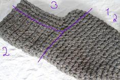 Maijan violetinsävyinen käsityönurkkaus: Paksut huovutetut töppöset isälle Knitted Hats, Knitting, Accessories, Fashion, Moda, Tricot, Fashion Styles, Breien, Stricken