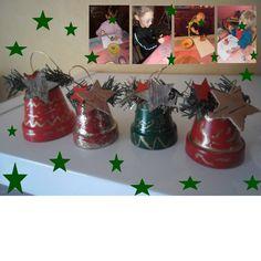Cloche de Noël avec pot en terre cuite                                                                                                                                                                                 Plus