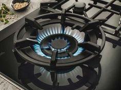 Nieuwe gaskookplaten met wokbrander
