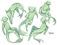 doodles mermen poses as i fret about birthday presents look at how counter-productive i am also these are probably only helpful to those who draw shota mermen l. Drawing Techniques, Drawing Tips, Drawing Sketches, Cool Drawings, Mermaid Pose, Drawing Expressions, Creature Drawings, Drawing Reference Poses, Female Drawing Poses