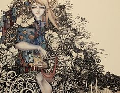 """Check out new work on my @Behance portfolio: """"Enchanted forest"""" http://on.be.net/1R46lD2"""