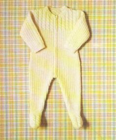 Tricot e Croche Passo a Passo Receitas: Receita Macacão de tricô com tranças para bebê